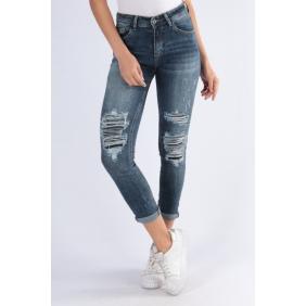 Jeans effet troué