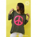 Tunique Peace and Love | TU du 38 au 48