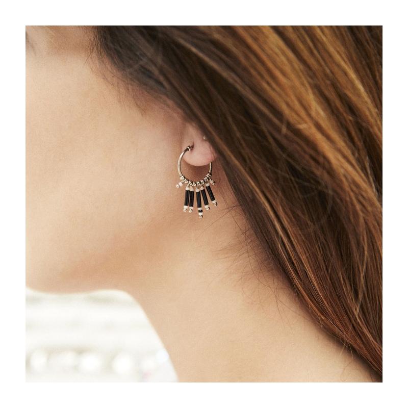 qualité de la marque style unique dernière conception Boucles d'oreilles BREEZE | Hipanema