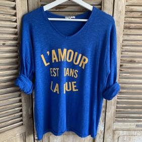 T-Shirt L'AMOUR EST DANS LA RUE |TU du 38 au 44