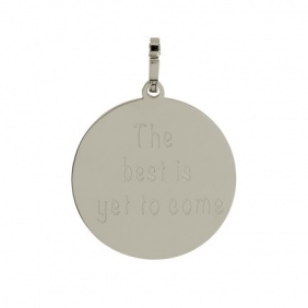 Pendentif  The best is yet to come  iXXXi