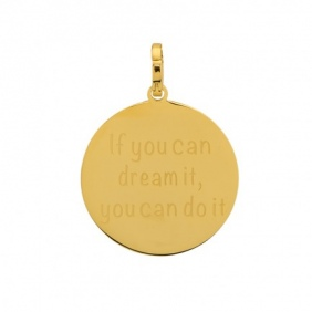 Pendentif  If you can dream it you can do it iXXXi