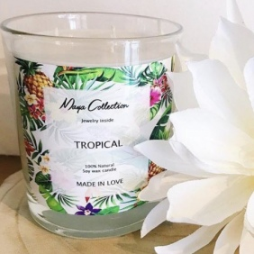 Bougies Maya Jewels   Tropical