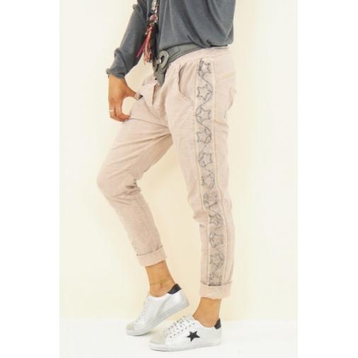 Pantalon aspect délavé | TU du 38 au 44