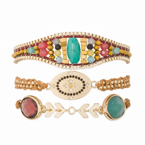 Bracelet ZELIA-LINK RED | Hipanema