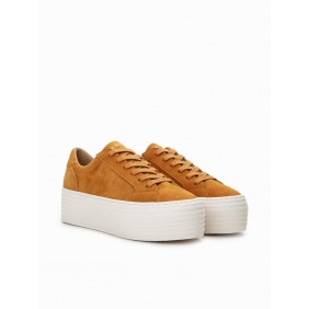Spice Sneaker - Goat Suede - Safran | NØ NAME