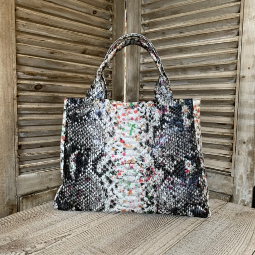 Sac Croco Multicolor