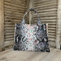 Sac Croco Multicolore