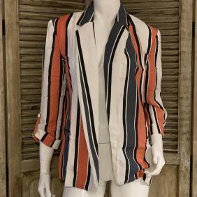 Veste Coachella - Coral Stripes | KNOX
