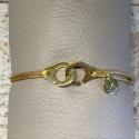 Bracelet NO KISS ! | Menottes - Doré
