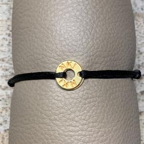 Bracelet NO KISS ! | Donut - Doré