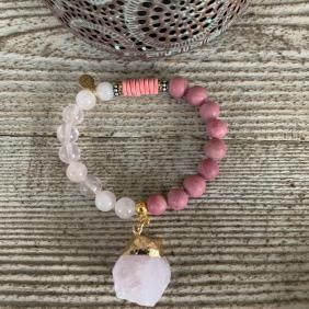 Bracelet Tendresse Quartz | Avec Un A*