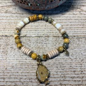 Bracelet Sahel Agate Dutzy | Avec Un A*