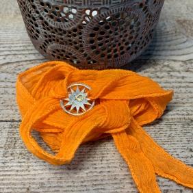 Bracelet Foulard Soie | Avec Un A*