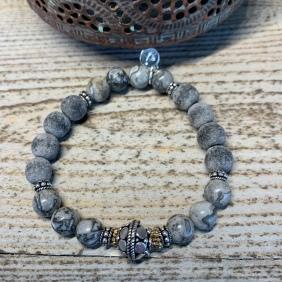 Bracelet Moonlight Silver | Avec Un A*