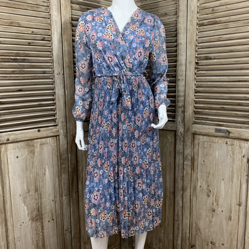 Robe Fleurie Mint Up