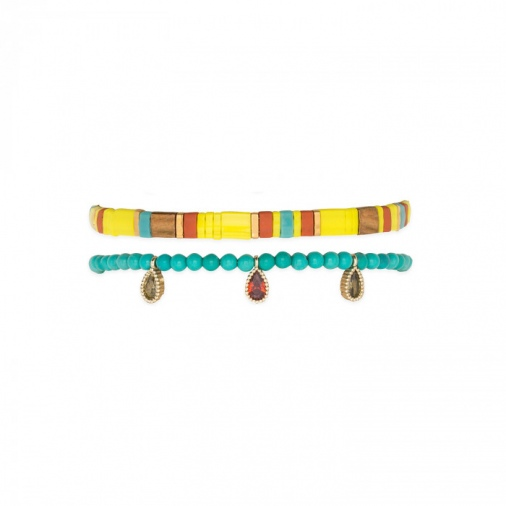 Bracelet VAÏANA YELLOW | Hipanema