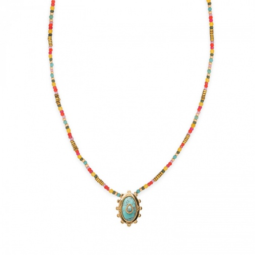 Collier GEORGIA TURQUOISE | Hipanema