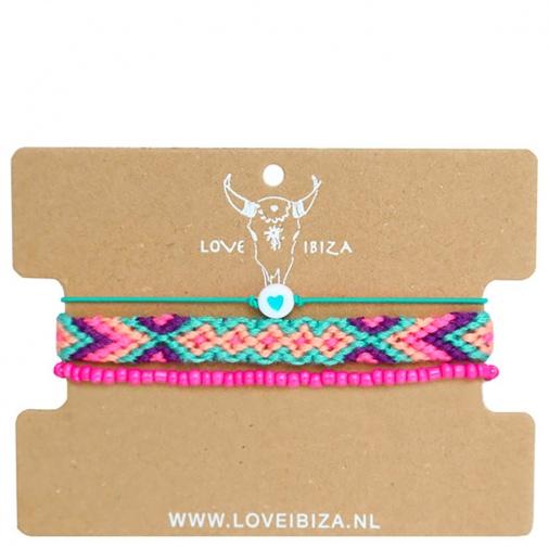 Set de bracelets Mambo Beach N°1 | Love Ibiza