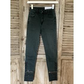 Pantalon Broderie - Strass | du 34 au 42