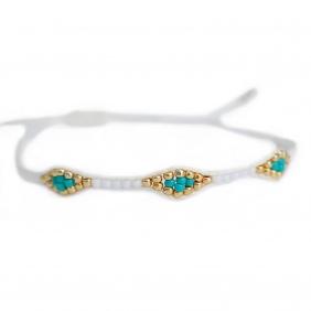 Bracelet Miyuki - White | Love Ibiza