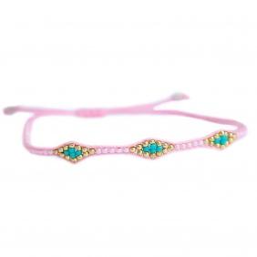 Bracelet Miyuki - Pink | Love Ibiza