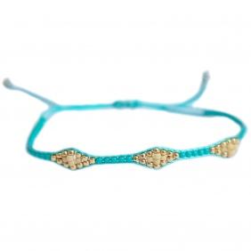 Bracelet Miyuki - Turquoise | Love Ibiza