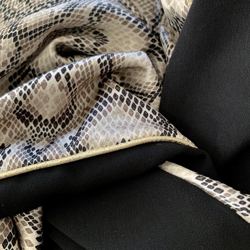Noir / Python / Doré